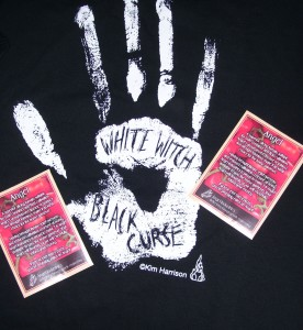 White Witch Black Curse Tour T-Shirt